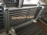 Automatische Elektrische aluminium-WPC die de Poort van de Garage met Omheining WPC vouwen