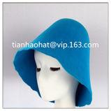中国の工場卸売100%のウールのフェルトの円錐形の帽子のフード