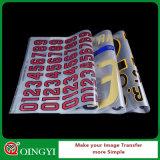 Etiqueta da transferência térmica do preço de Qingyi boa para o t-shirt