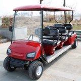 電気電気ゴルフ車6の乗客のカート