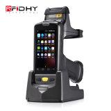 Lettore robusto Android di frequenza ultraelevata RFID del produttore tenuto in mano del lettore della lunga autonomia RFID di sostegno di Hy-R4000 Sdk