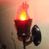 LEIDENE van de Brand van het Effect van het stadium het Licht van de Valse Vlam van de Zijde