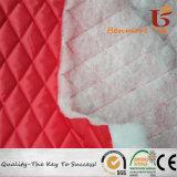 Tejido de tafetán/Quilting tejido de tafetán de poliéster con 80 gramos de algodón nonwoven