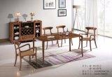 최신 인기 상품 호텔 가구 안락 의자 또는 나무 골격 가죽 식사 의자