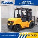 XCMG fabricante oficial FD40t 4 Ton Carretilla elevadora Diesel con neumático de sólidos