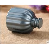リード拡散器のギフトセットのための精油が付いている一般に暗い灰色の円形の陶磁器のつぼ