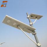 Lâmpada de alta 100W Luz Rua Solar integrado tudo em um