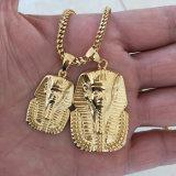 Missjewelry 18K 금에 의하여 도금되는 주문 스테인리스 Pharaoh 펜던트