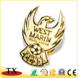 Custom Design Metal Pile Wing Badge