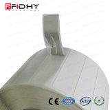 collant passif de tag RFID de la fréquence ultra-haute E44 de 860-960MHz CPE Gen2 Impinj Monza 4qt