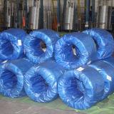 Fil d'acier à faible teneur en carbone galvanisé enduit par zinc élevé
