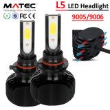 車のアクセサリのクリー族LEDのヘッドライトH4 LEDの車またはトラック12V 24V 80W 8000lm、自動車部品のためのキットによって隠されるBiのキセノンH7 LEDのヘッドライト12V 24V
