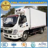 Foton 6 Räder Milch und Treffen-Transport-LKW 6 t-Kühlraum-Lastwagen