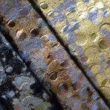 Горячая жара ткани полиэфира штемпелевать золота бронзируя ткань ботинка мешка