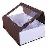 大型の明確なWindowsのFoldableワインのギフトの包装ボックス