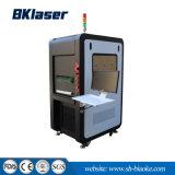 La impresión de códigos de barras de fibra de la máquina de impresión láser