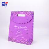 Progettare il sacchetto per il cliente di carta del regalo di Ropeless per il fiore impaccante