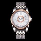 Heiße Legierungs-analoge Quarz-Marken-Uhr-Handgelenk-Form-Quarz-Mann-Uhr der Form-Z377