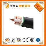 Câble d'alimentation engainé par PVC en aluminium d'isolation de XLPE