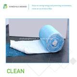 Vidrio blanco ambiental manta de lana sin formaldehído para el aislamiento de calefacción