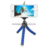 Mini portable one flexible Sponge Octopus Tripod Bracket status Mount Monopod + Phone Holder for Gopro Camera DSLR Mount
