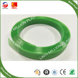 Forte tension des sangles de palettes en plastique vert de l'emballage, de la courroie d'emballage, bande d'emballage, sangle de PET