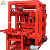 O bloco de cimento Qt4-26 simples que faz a cinza de mosca da máquina a maquinaria automática do tijolo bloco contínuo que faz a máquinas o fechamento concreto obstrui o preço