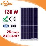 130W Painel Solar para o sistema de energia solar fotovoltaica