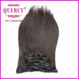 Virgin umano di 100% 22 pollici di capelli di capelli brasiliani della clip