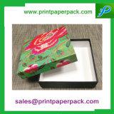 Kundenspezifischer Büttenpapier-Geschenk-Luxuxkasten