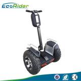 Batería doble 1266wh 72V Scooter eléctrico de 2018, ruedas grandes sin escobillas de 21 pulgadas y 4000W