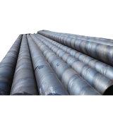 Tubo d'acciaio a spirale d'accatastamento del tubo SSAW del grado 2 di ASTM A252