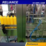 De vloeibare Detergent Plastic Machine van het Flessenvullen en het Afdekken