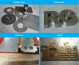 Fibra de ipg cortados a laser Corte a Laser CNC Metal 750W