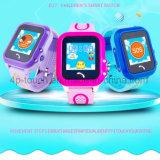 As crianças GPS inteligente Tracker assista com 1.22''Tela sensível ao toque D27