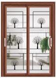 تصميم حديثة صوت برهان ألومنيوم [سليد دوور] مزدوجة زجاجيّة
