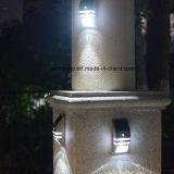 Silicio policristalino solar del sensor de movimiento de la luz de la pared del LED de la lámpara al aire libre impermeable de la yarda 0.4W 4V con la aprobación de RoHS del Ce