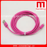 8 Pin Lightning Cables USB para iPhone 6.5 / 5s