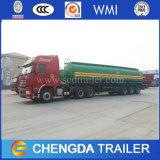 Acoplado de gasolina y aceite del petrolero del tanque de la promoción 30kl 40kl 66000liters de la fábrica