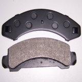 Basso-Metallo di ceramica semimetallico su ordinazione del rilievo di freno di buona qualità dello Shandong