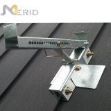 주문을 받아서 만들어진 금속 지붕 태양 전지판 장착 브래킷