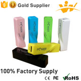 2 의 600mAh Colorful Mini Portable Power 은행 Phone Charger