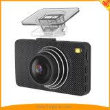 3.0inch câmera do carro DVR com 140 a caixa negra do carro do ângulo FHD1080p de opinião do grau