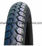 Motorrad zerteilt haltbaren populären Muster-Schwarzmotorrad Reifen 3.00-18