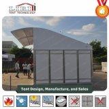 食糧停止のためのアルミ合金フレームが付いている小さい半分のドームのテント