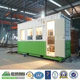 Дом контейнера Китая используемая домом