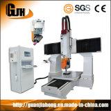 Máquina do Woodworking do CNC de 5 linhas centrais