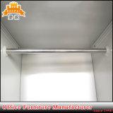 O metal do armazenamento da porta do aço 6 veste o gabinete do cacifo do Wardrobe