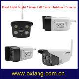 Macchina fotografica astuta impermeabile esterna chiara doppia del IP di WiFi di colore completo di visione notturna di Hisilicon