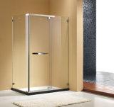 Cabine de vidro do chuveiro do cerco do chuveiro do pivô da porta do chuveiro da alta qualidade